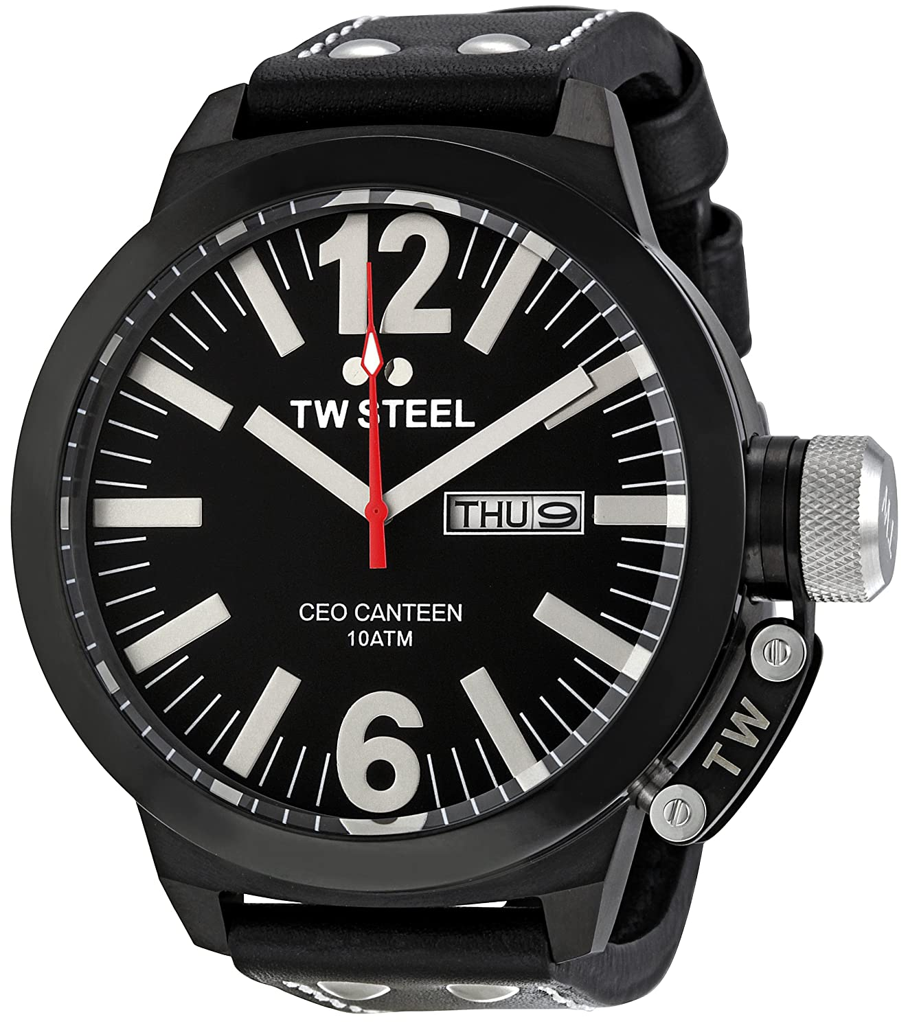 TW Steel Men 's ce1032 CEO Black Dial Watch B003HEZ1TQ