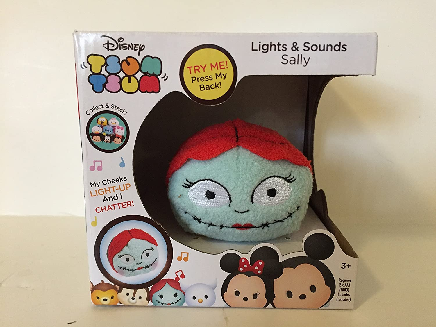 Amazon.com: Disney Tsum Tsum Lights & Sounds Sally Plush: Toys & Games