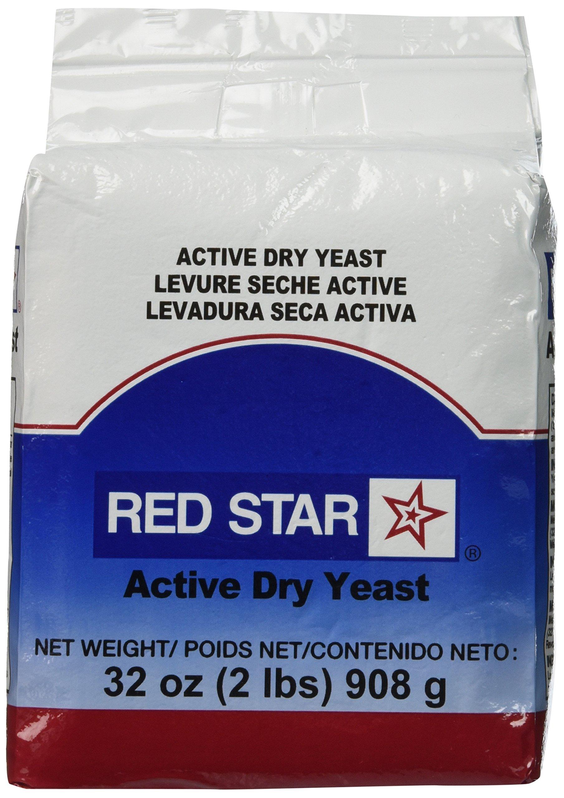King Arthur Flour Red Star Active Dry Yeast 32 OZ (2 lbs)