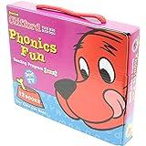 Clifford Phonics Fun Reading Program Pack 2 (12 Books) with CD クリフォードフォニックス・ボックスセット2(CD付き)