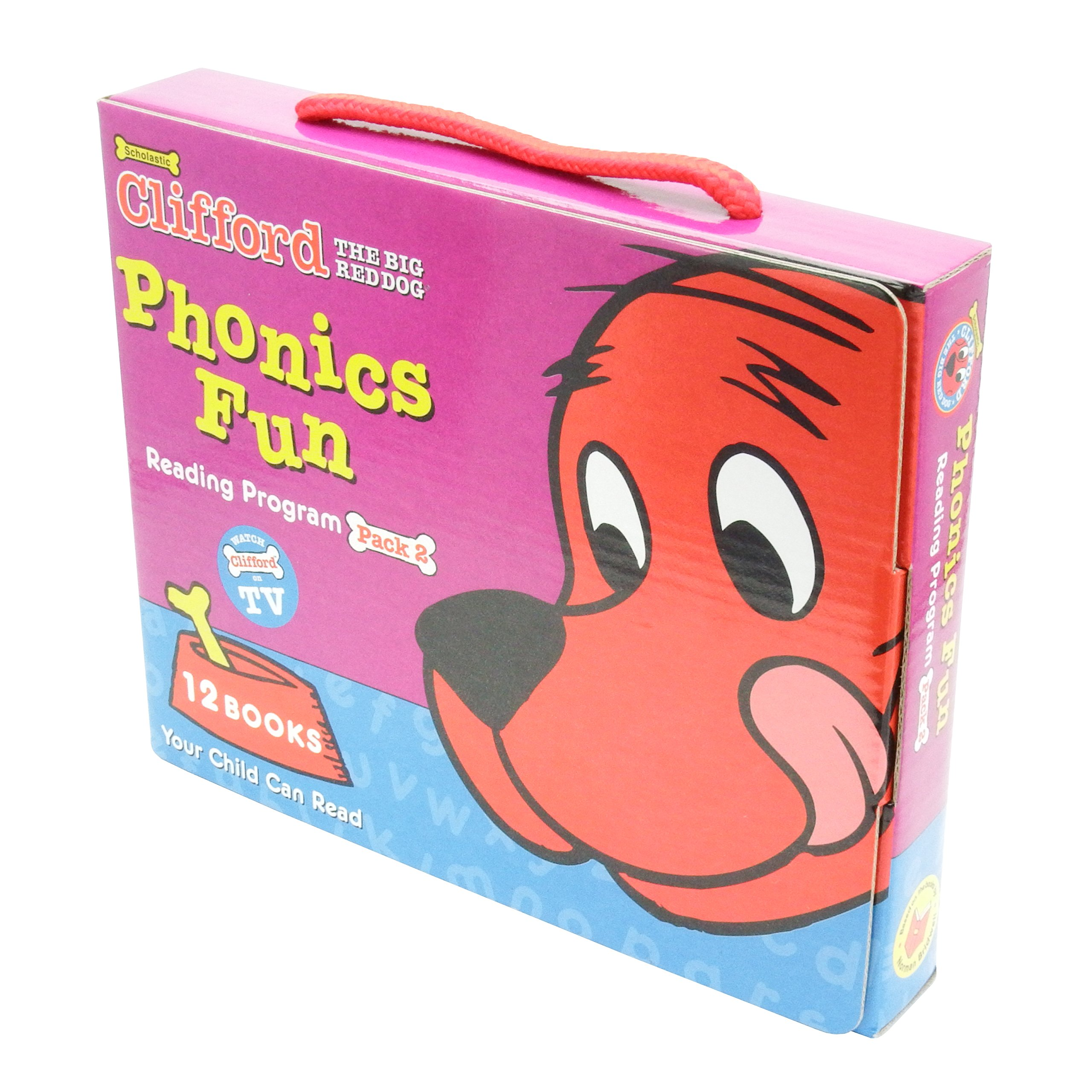 Download Clifford's Phonics Fun Box Set #2 pdf