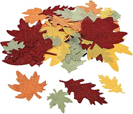 Amazon.com: Burlap Leaf Shapes - Crafts For Kids And Fun Home Activities:  Toys & Games