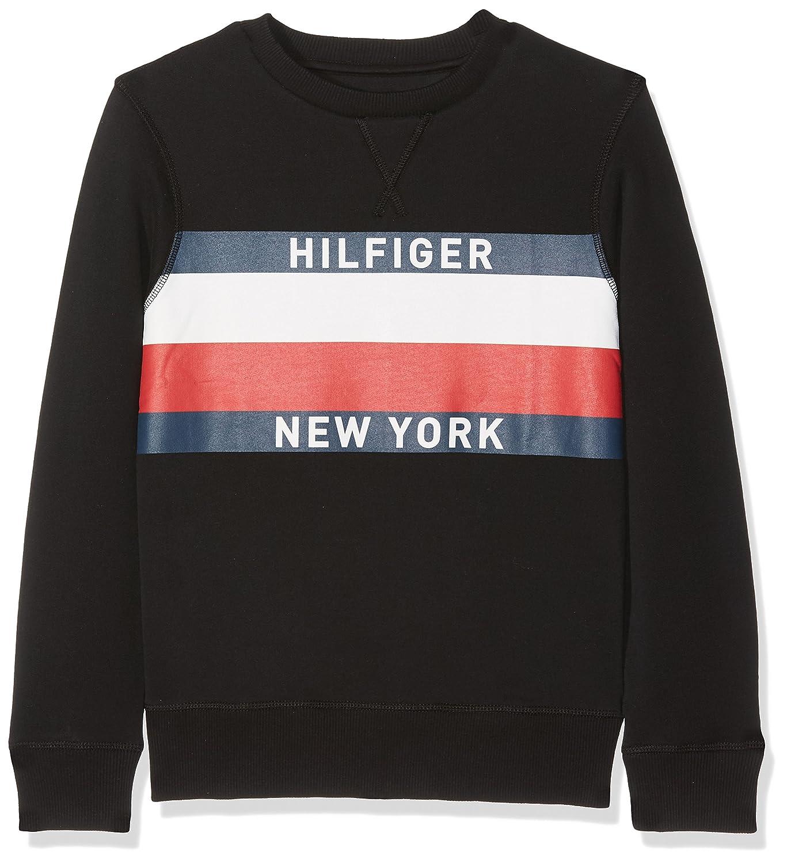 Tommy Hilfiger Boy's AME Hilfiger Cn HWK L/S Sweatshirt KB0KB03385