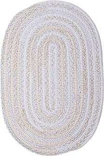product image for Colonial Mills Bella Nursery Braided Rug, 7' X 9' , Blue Grey