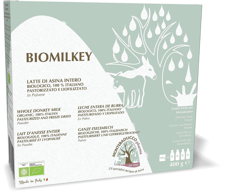 Eselsmilch-Pulver  pasteurisiert und lyophilisiert  Biologisch- 400 g