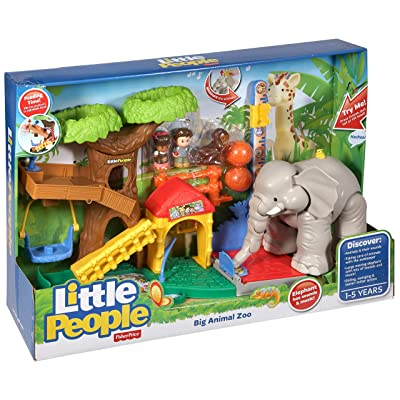 Fisher-Price Little People Big Animal Zoo: Toys & Games