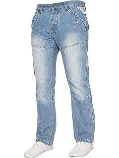 Enzo Jeans Straight Uomo