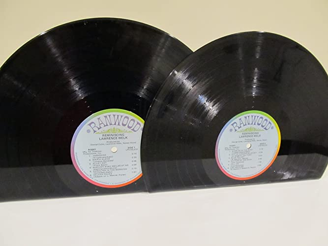 image relating to Printable Vinyl Record Labels called : Vinyl Historical past Bookends LP Lawrence Welk