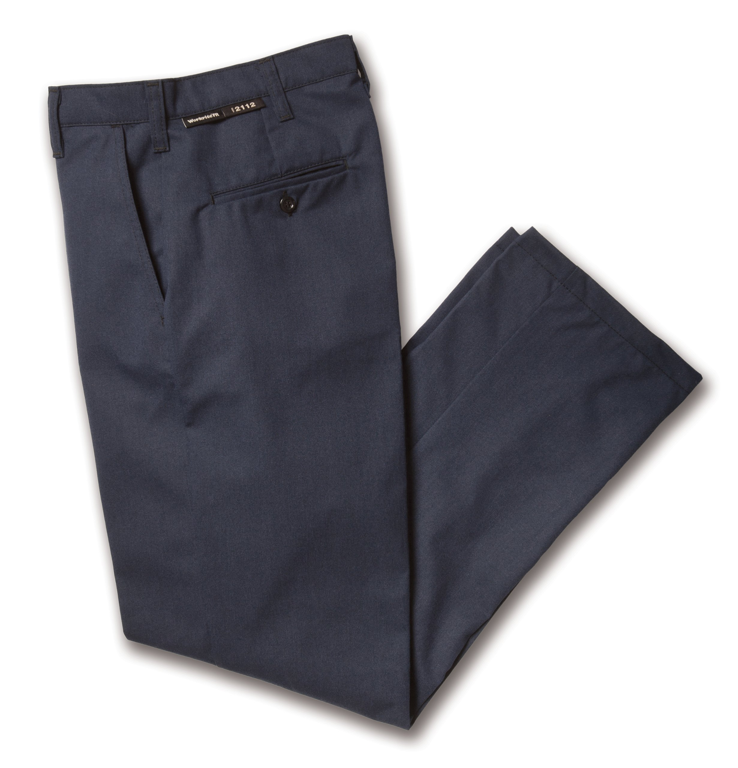 Workrite 433PO80NB36-32 Flame Resistant 8 oz Protera Work Pant, 36 Waist Size, 32 Inseam, Navy Blue