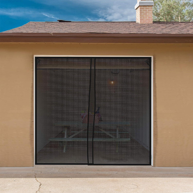 Amazon Magnetic Garage Door Screen For One Car Garage Heavy