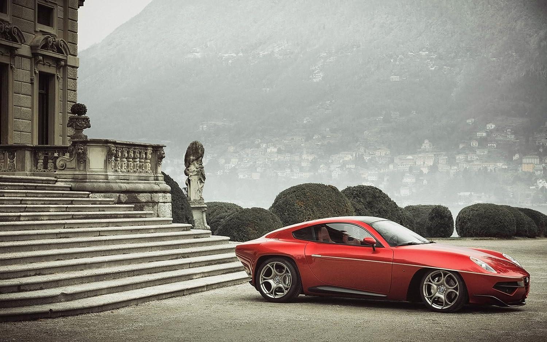 Alfa Romeo Disco Volante >> Amazon Com 2013 Alfa Romeo Disco Volante By Touring 8x10