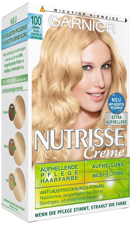 Garnier sommerblond haarfarbe