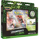 Pokémon TCG: Champion's Path Pin Collection (Turffield, Hulbury, and Motostoke), Multicolor