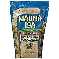 Mauna Loa Macadamias, Dry Roasted with Sea Salt, 10-oz.