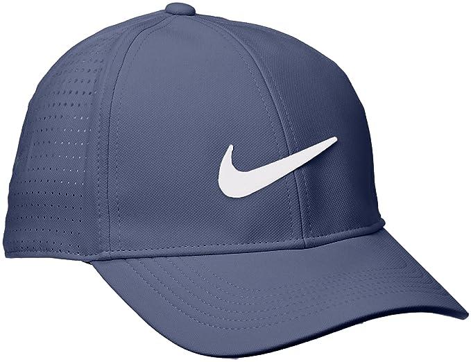 Nike Aerobill Gorra de béisbol, Azul (Azul 471), One Size (Tamaño ...