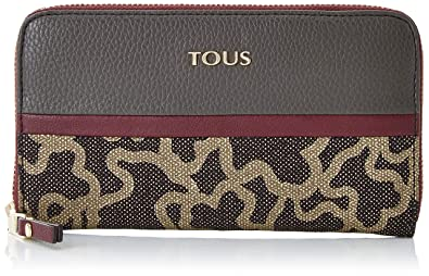Tous Billetera Mediana Elice New, Cartera para Mujer, Gris ...