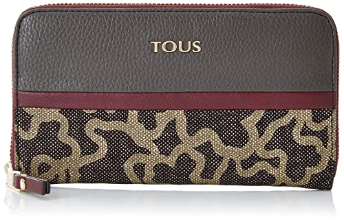 Tous Billetera Mediana Elice New, Cartera para Mujer, (Gris ...