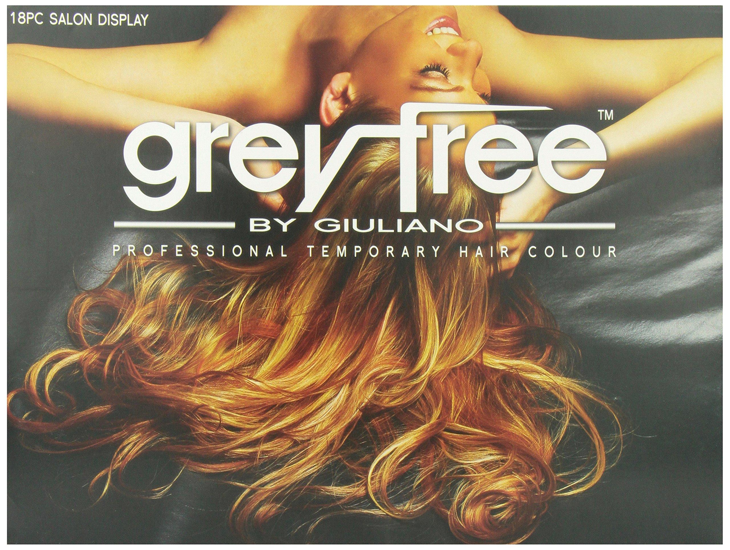 Greyfree Professional Temprorary Hair Color 18 Pieces Display by Greyfree (Image #2)