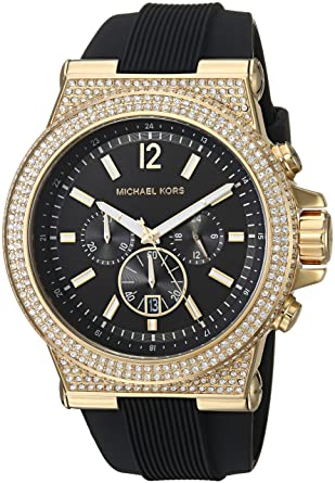 Michael Kors Mens DylanBlack Watch MK8556