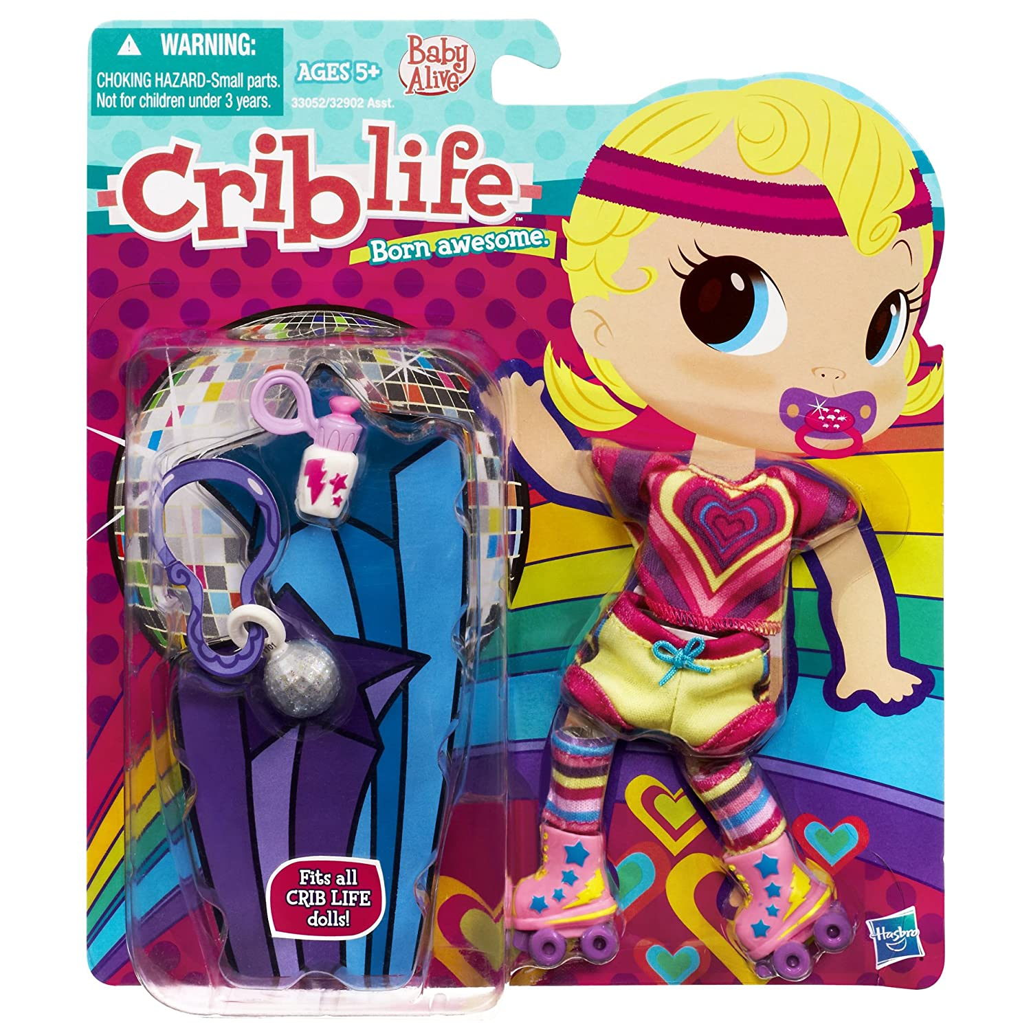 Uncategorized Criblife amazon com baby alive crib life outfit rollerskating toys games