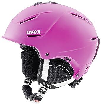 Uvex p1us 2.0 Esquiar, Snowboard Rosa - Cascos de protección para Deportes (IAS fit