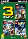 Lego Box : Jurassic World + Marvel Avengers + Batman 3