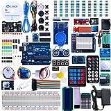 Elegoo UNO R3 Progetto Lo Starter Kit Piu Completo con Tutorial in Italiano per Arduino UNO MEGA 2560 NANO (63 Articoli)