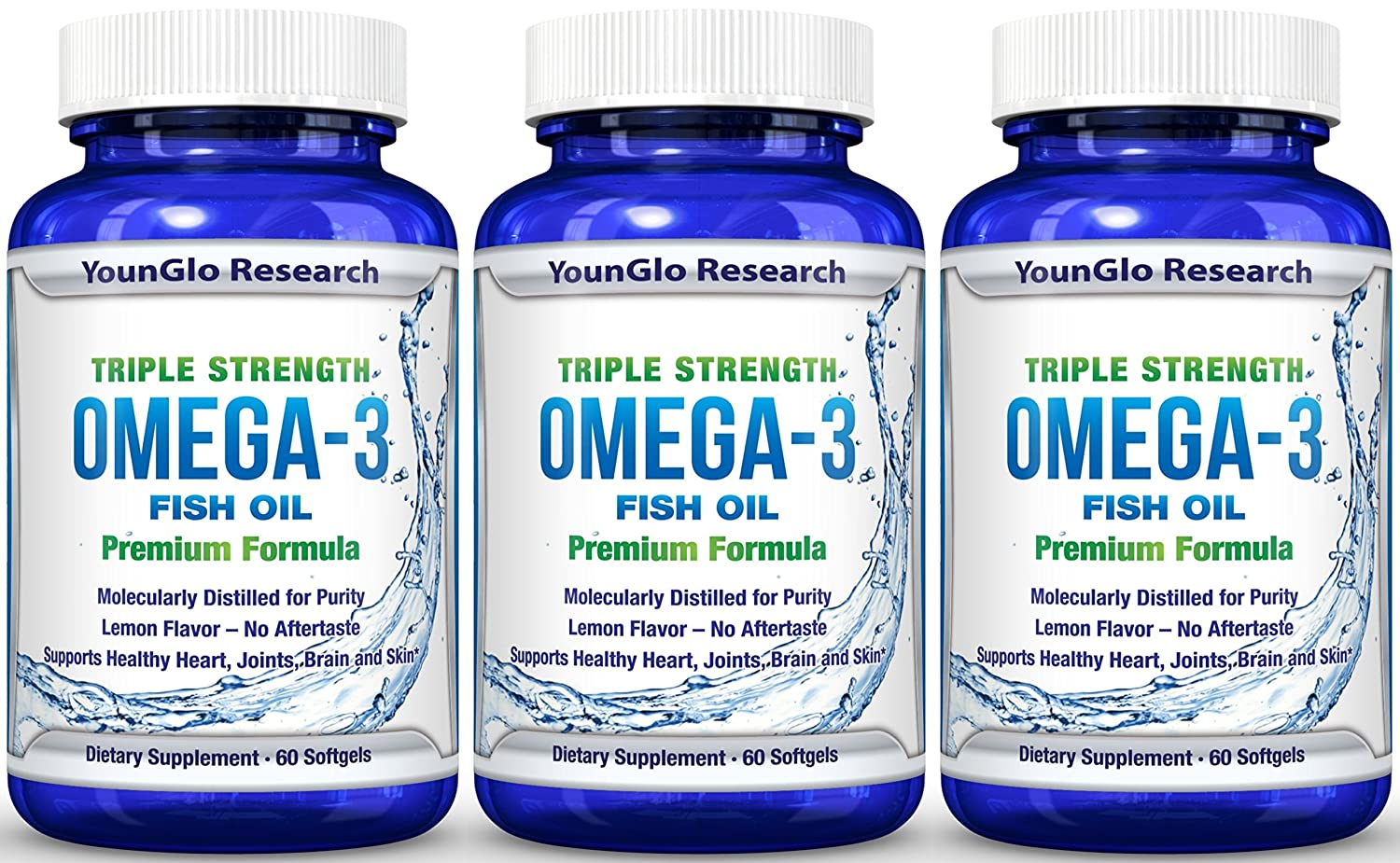 Fish Oil Pills Pharmaceutical Quality Triple Ever E Isi 30 Softgels Strength Omega 3 Burpless Capsules Pack Health Personal Care