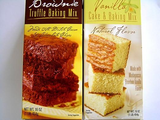 Comerciante Joe s Brownie Truffle Mix de hornear y vainilla ...