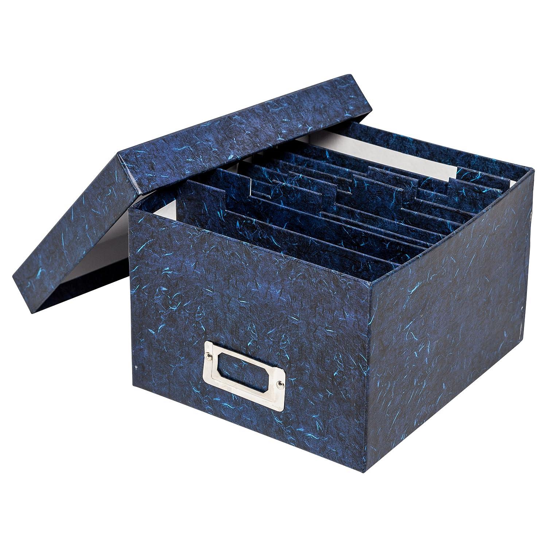 scatola portafoto rigida ALBOX700BLUE dimensioni foto 10/cm x 15/cm The Photo Album Company /colore blu scuro