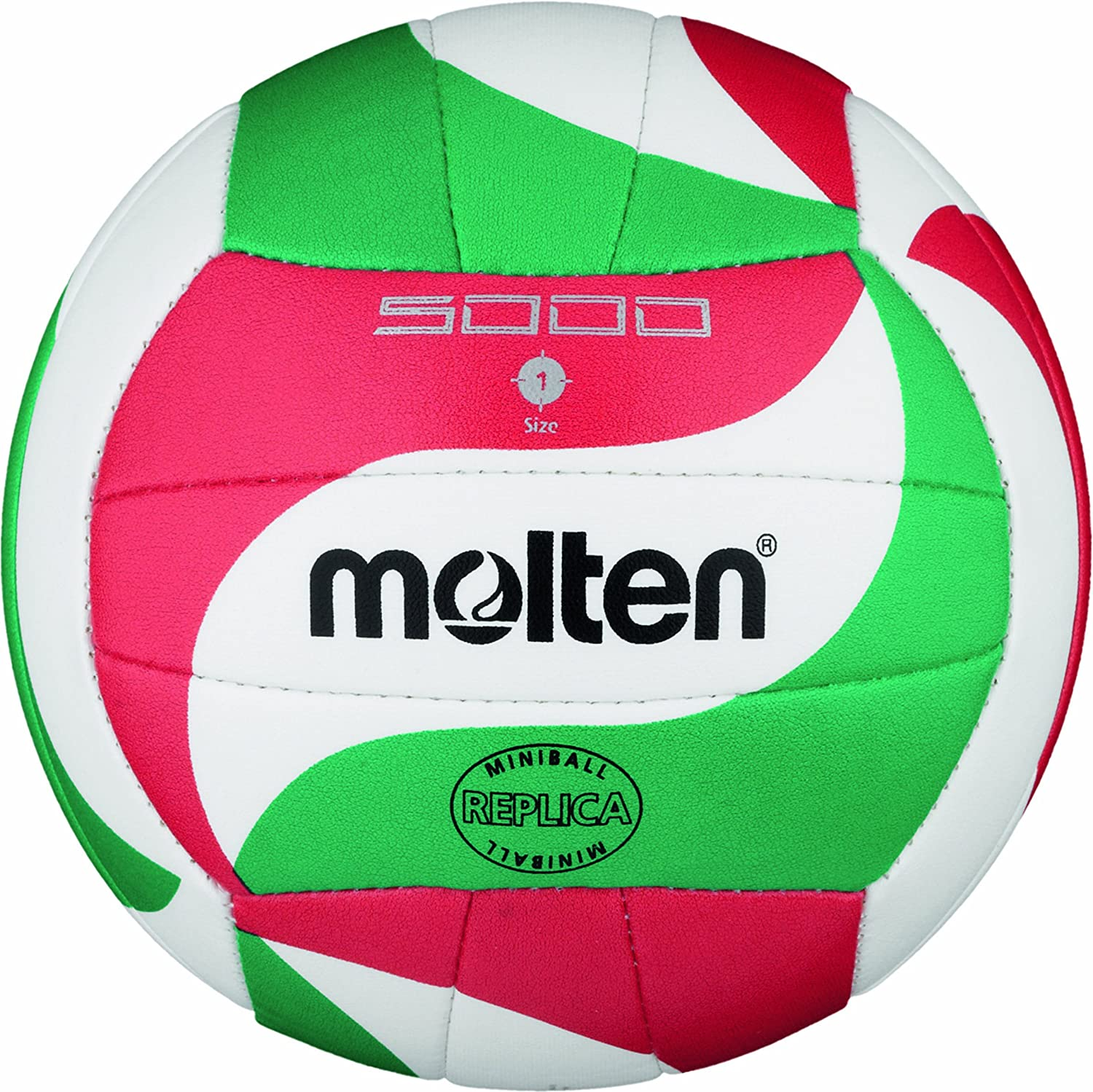 Molten Volleyball - White/Green/Red: Amazon.es: Deportes y aire libre