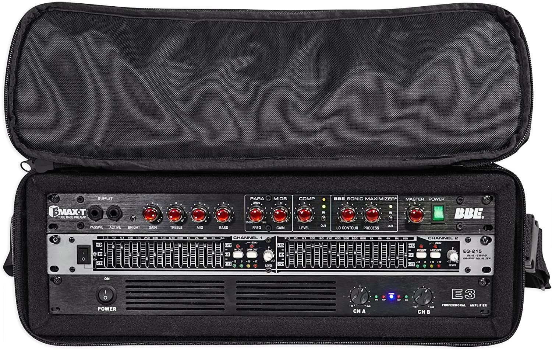 DBX 231S Dual 31 Band Graphic Equalizer Pro Audio Rack Mount EQ Rack Case Bag