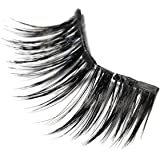 Lash'd Up Professional 3 Magnet Magnetic Eyelashes Silk Cruelty Free Full Eyes Complete Set Reusable Bold Thick Long False Lashes - No Glue   undress me by Lash'd Up