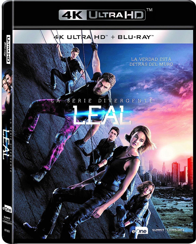 La Serie Divergente: Leal Blu-Ray + Uhd 4k [Blu-ray]: Amazon.es: Shailene Woodley, Theo James, Jeff Daniels, Robert Schwentke, Shailene Woodley, Theo James: Cine y ...