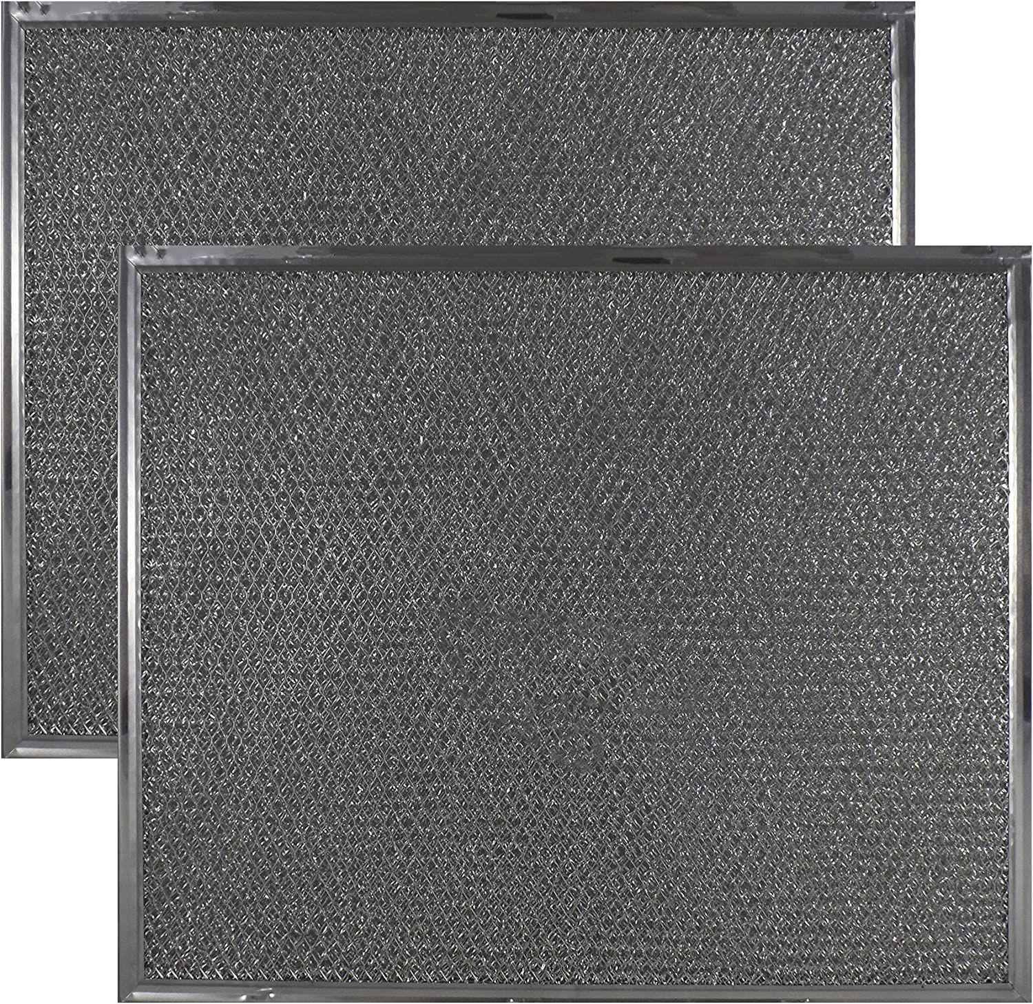 Air Filter Factory 2 Pack Compatible Replacement for Maytag & Jenn Air 707929, 708929 Range Hood Aluminum Grease Filter