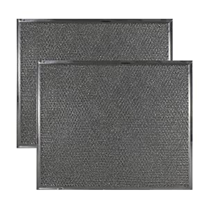 2-PACK Air Filter Factory Compatible Replacement For Maytag & Jenn Air PS2076846 AP4089729 Range Hood Downdraft Aluminum Grease Filter