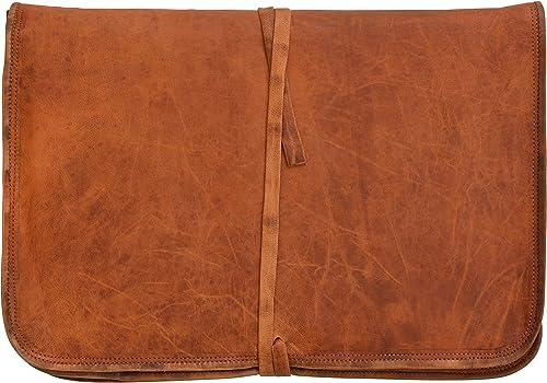 Gusti Cuero nature Chris Funda para Portátil 15 Vintage Retro Formato A4 Trabajo Universidad Oficina Estuche Protección L7: Amazon.es: Zapatos y complementos