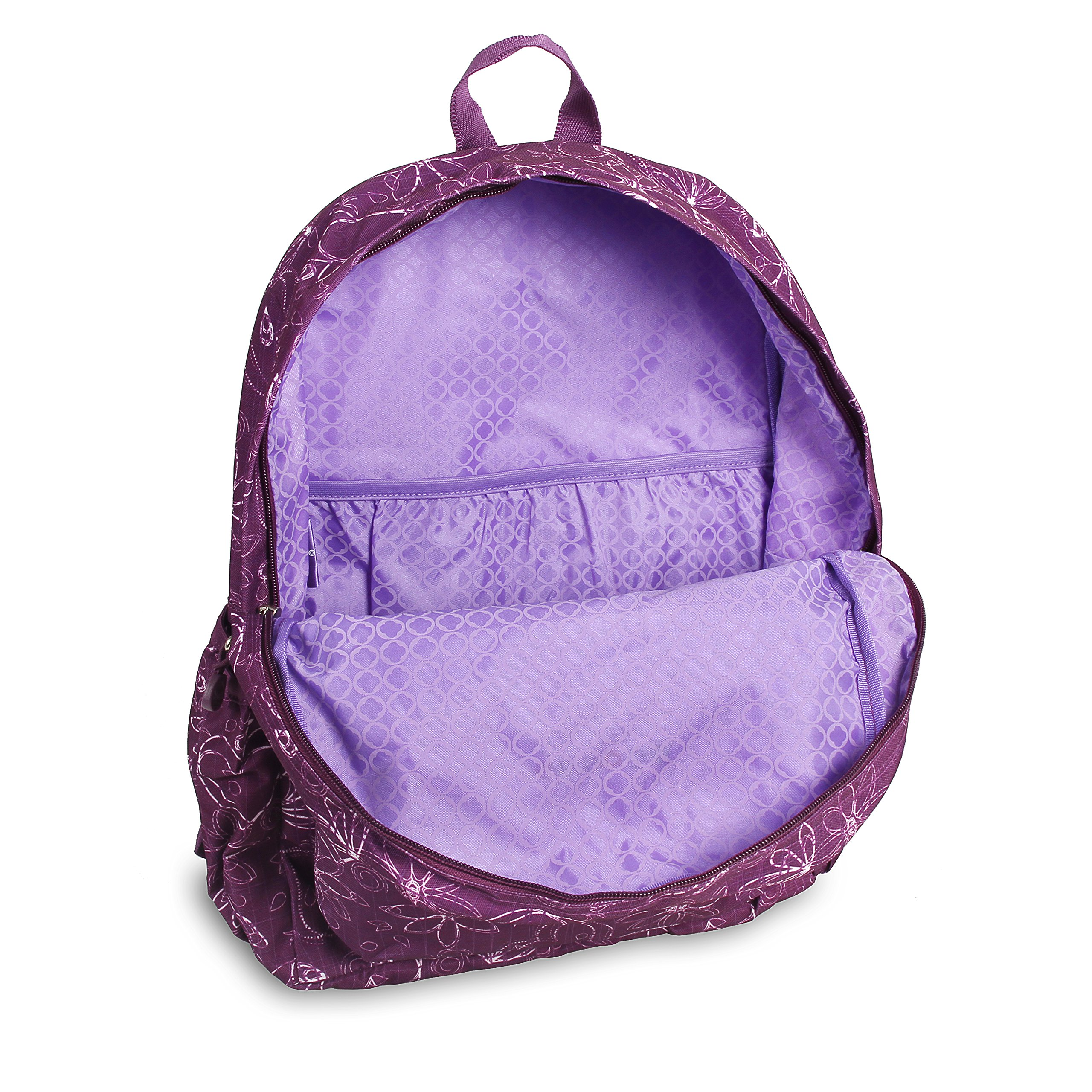 J World New York Oz Backpack, Love Purple by J World New York (Image #4)