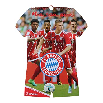 Calendrier Bayern.Fc Bayern Munchen Maillot Calendrier 2018 Taille Unique