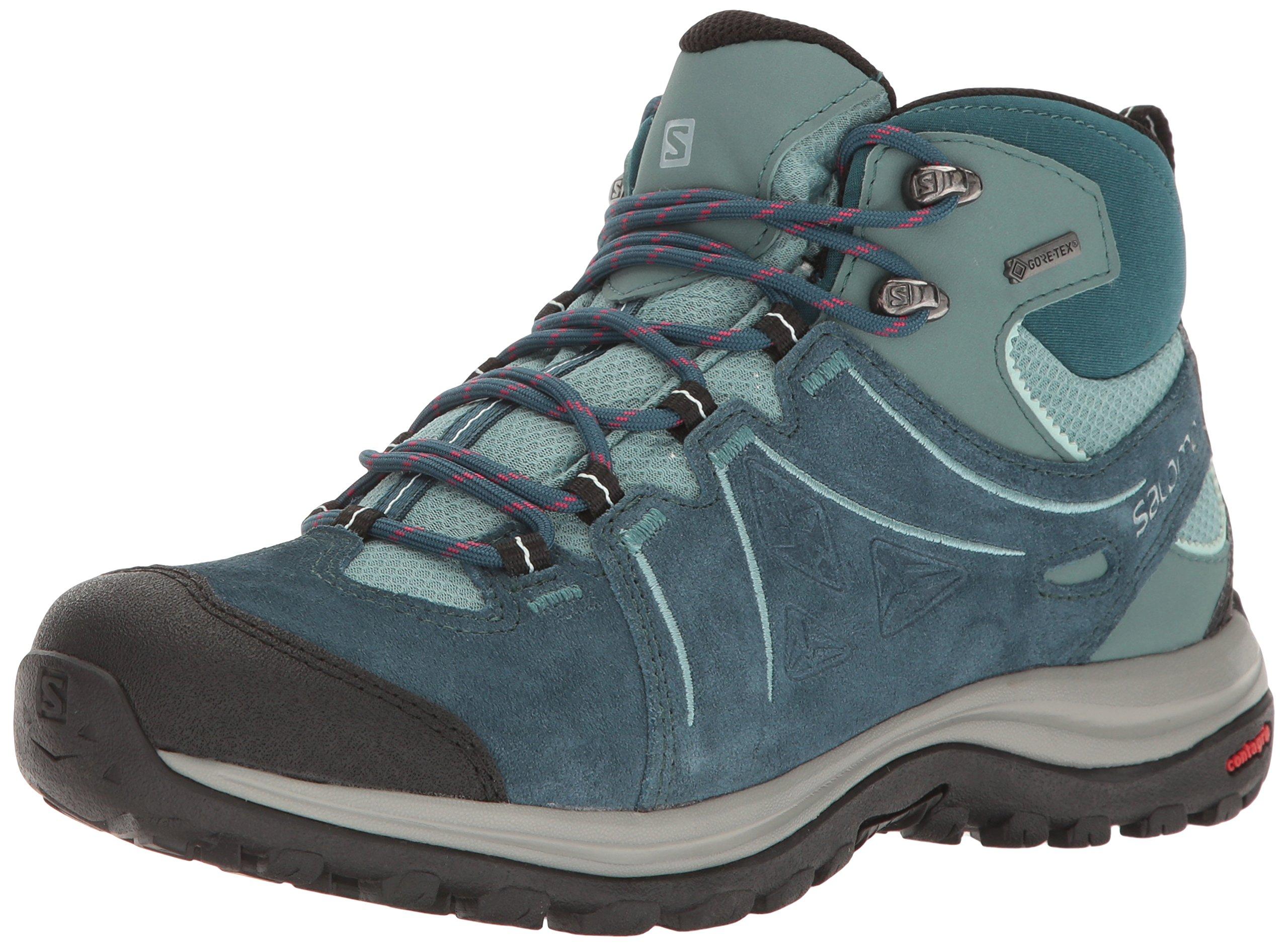 Salomon Women's Ellipse 2 Mid Ltr Gtx W Hiking Boot, Reflecting Pond/Artic/North Atlantic, 8.5 M US