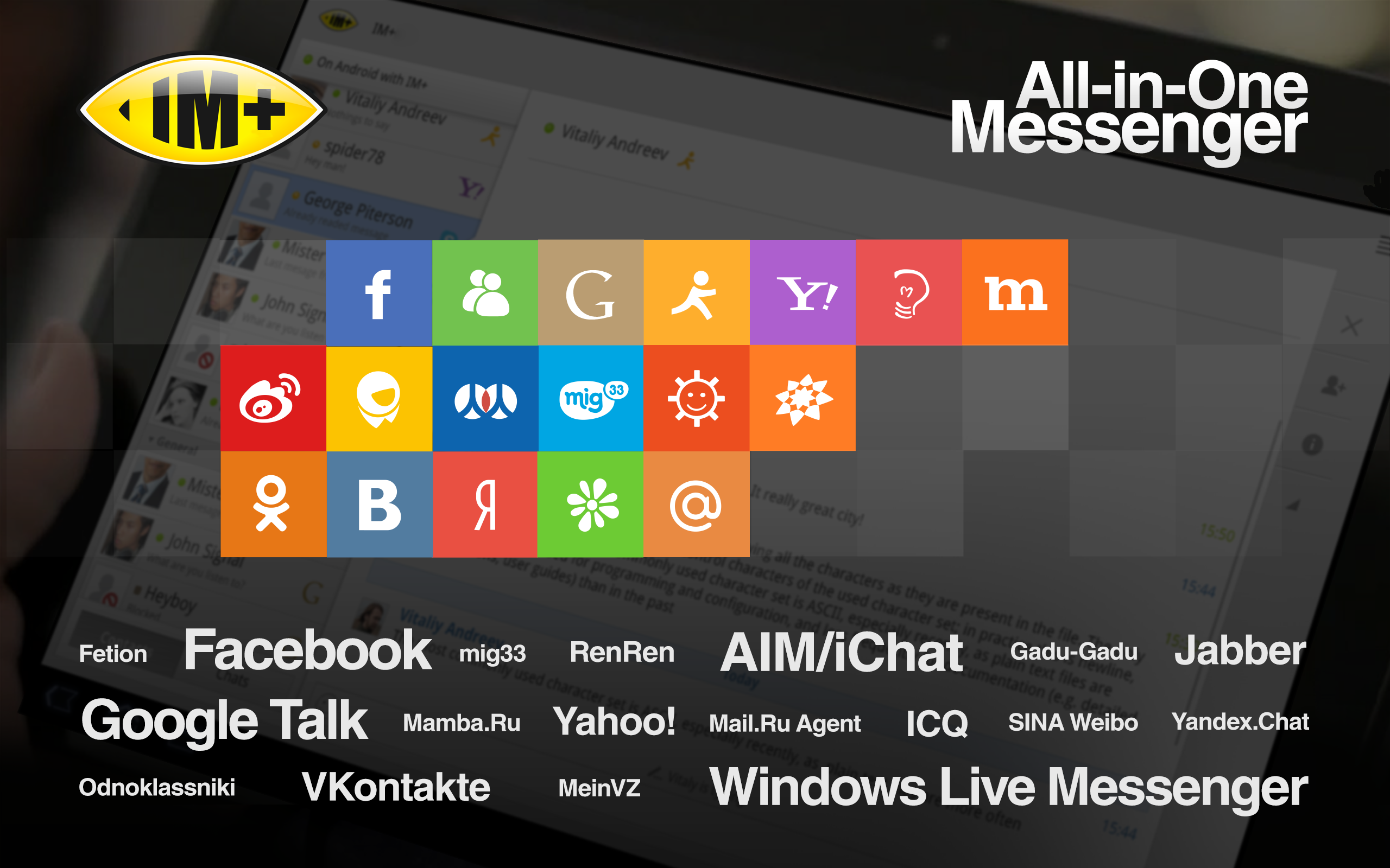 all in one messenger apk