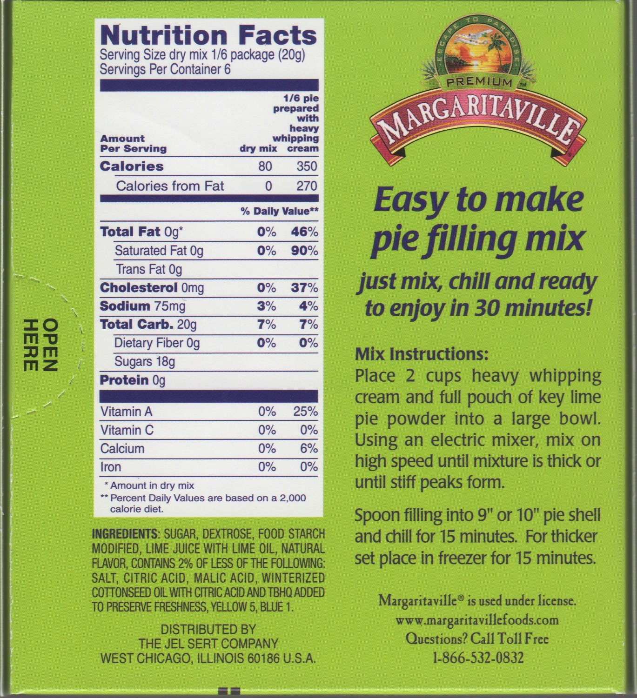 Margaritaville Key Lime Pie Filling Mix, 4.34 Oz (Pack of 2) by Margaritaville (Image #1)