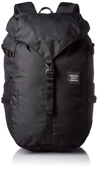 Herschel Barlow Large 20 Litre Back Pack Ruck Sack 10271 Black ... 675df9e873416