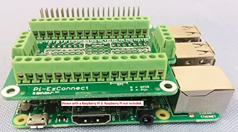 Alchemy Power Inc  Pi-EzConnect  Raspberry Pi 2 and Raspberry Pi 3 GPIO  connector  A HAT to connect GPIOs and sensors to Raspberry a Pi-2 or Pi-3
