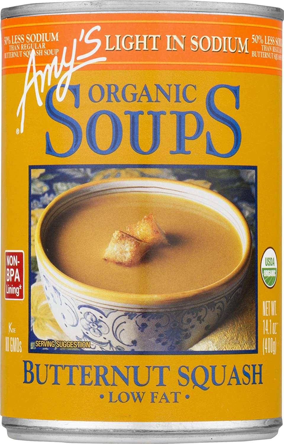 Amy's Organic Soups, Butternut Squash, 14.1 Ounce (Pack of 12)