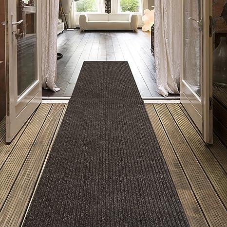 Amazon.com: iCustomRug Indoor/Outdoor Utility Ribbed Carpet Runner ...