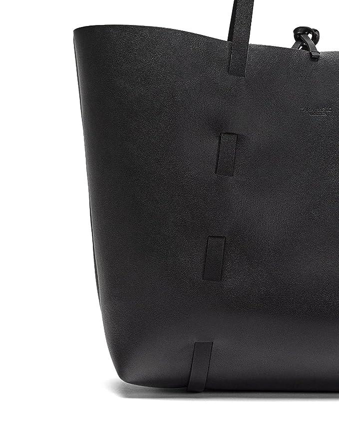 Zara - Bolso mochila de Poliéster para mujer Multicolor multicolor Medium: Amazon.es: Ropa y accesorios