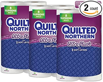 Amazon.com: Quilted Northern Ultra Plush Septic-Safe Toilet Paper ...