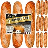 12 x Baguettes de Pan SiempreTierno 110 grs (1320 grs total) · Dura hasta 88 días sin necesitad de frio ni congelación…