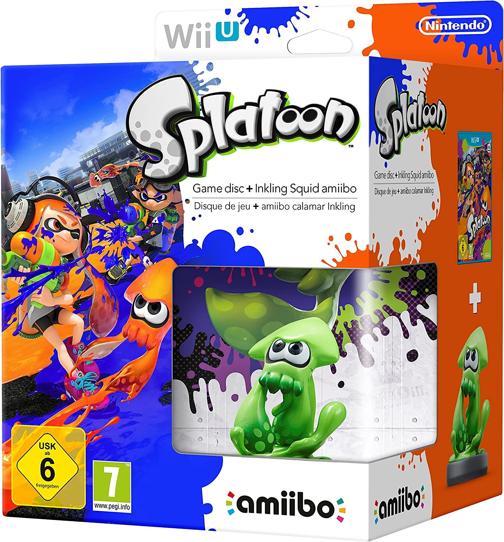 Splatoon + Amiibo Calamar: Amazon.es: Videojuegos